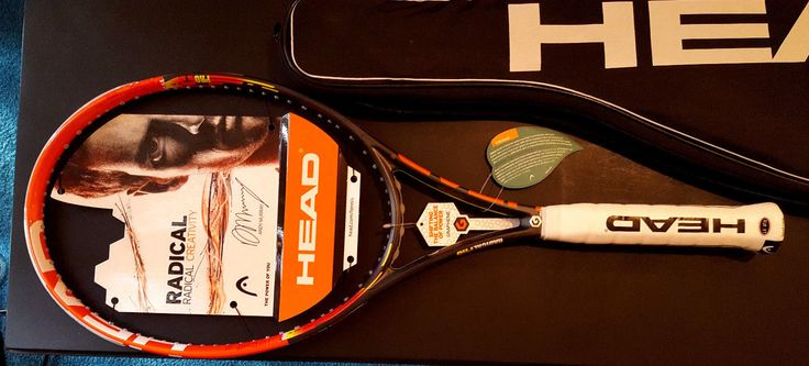 awesome New Head Graphene Radical Pro Tennis Racquet 4-1/2 w/Case -- Andy Murray   Check more at http://harmonisproduction.com/new-head-graphene-radical-pro-tennis-racquet-4-12-wcase-andy-murray/