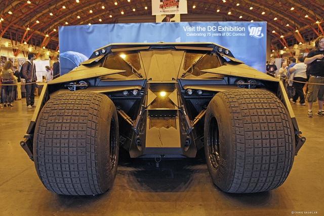 http://www.theestablishingshot.com/search/label/Batman  London Film and Comic Con : The Tumbler Batmobile by Craig Grobler, via Flickr