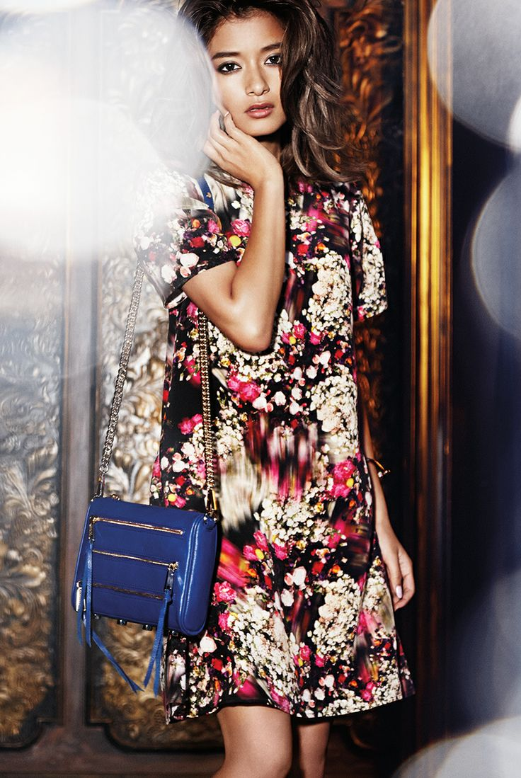 Rebecca Minkoff Holiday 2013 LOOK 8: FEMME FLORAL