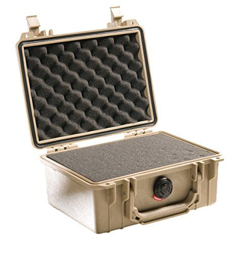 Pelican Camera Case With Foam (Desert Tan) 1150