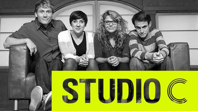Have you seen Studio C yet? It's hilarious! And completely family-friendly! Giving away a ROKU on the blog this week so your family can enjoy too! #StudioC #roku: