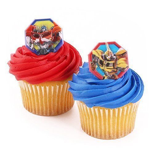 free printable rescue bots cupcake toppers perfect for your transformers party