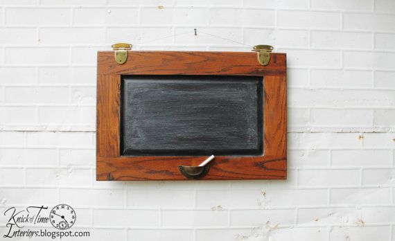 Schoolhouse Style Chalkboard created from Salvaged by KnickofTime, $33.00