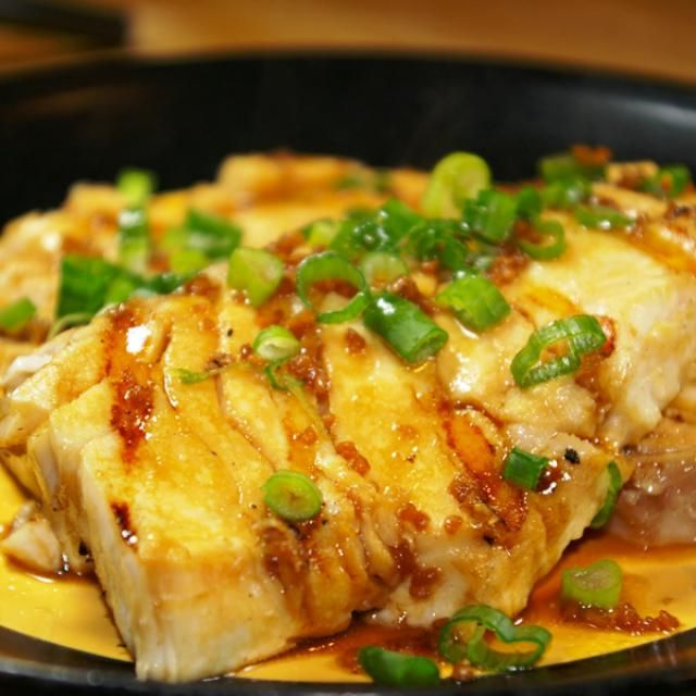 This is a quick and flavorful halibut recipe. The rich color of the basting sauce gives a lot of character to this dish.
