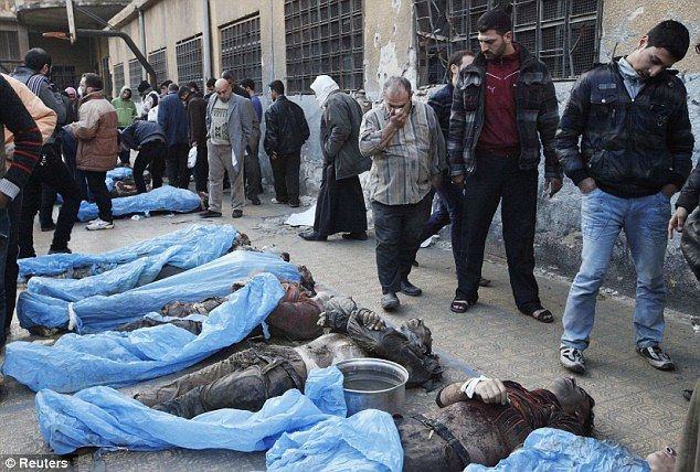 U.S. 'backed plan to launch chemical weapon attack on Syria and Blame it on Assad's Regime