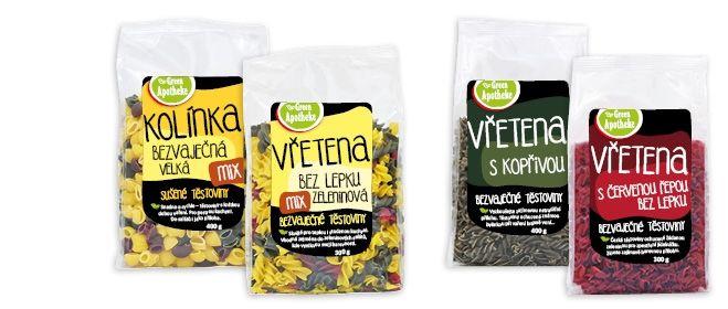 Green Apotheke Těstoviny   Apotheke - Váš bylinný Eshop