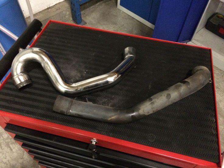 #Ducati #996 #exhaust #polish