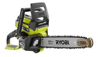 RYOBI 40V Lithium Battery Chainsaw Giveaway - ends 10/5