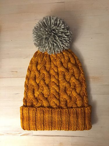 234d8482ace Traveling Cable Hat by Purl Soho