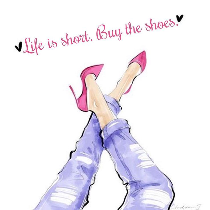 ♔ Life is short. Buy the shoes.