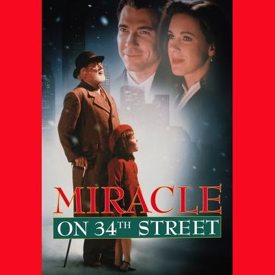 """And our self-made ChristmasFest Movie Festival continues with """"Miracle on 34th Street."""" (Yes, the remake, which I proudly love. And for the record, I love the original, too! I'm an equal opportunity lover of Christmas movies!) . . . #movie #moviefestival #festival #moviefest #miracleon34thstreet #christmasmovies #holiday #holidayviewing #moviewatching #fest #moviefest #selfmade #diy #movie #film #christmas #december #viewingparty #watch #hohoho #season #tistheseason #filmfest #filmfestival"""