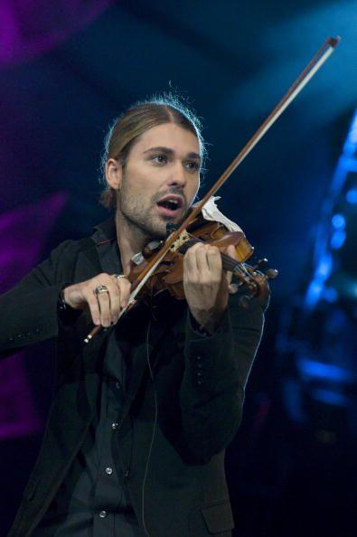 Photo of David GARRETT Violinist David Garrett performing on stage at ...