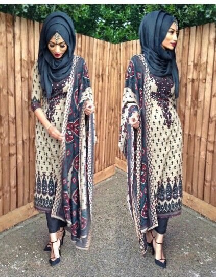 Desi hijabi