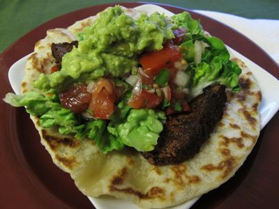 Chile-Rubbed Steak Tacos | things! | Pinterest