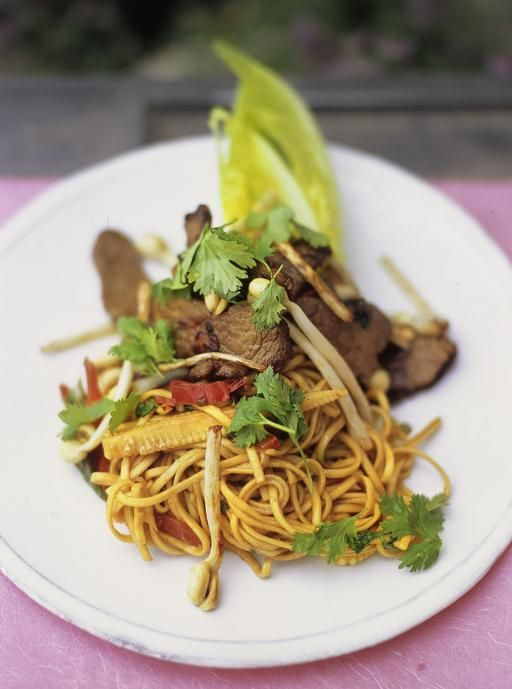 Jamie Olivers delicious Beef and Noodles stirfry is packed with amazing Asian flavour which the family will enjoy