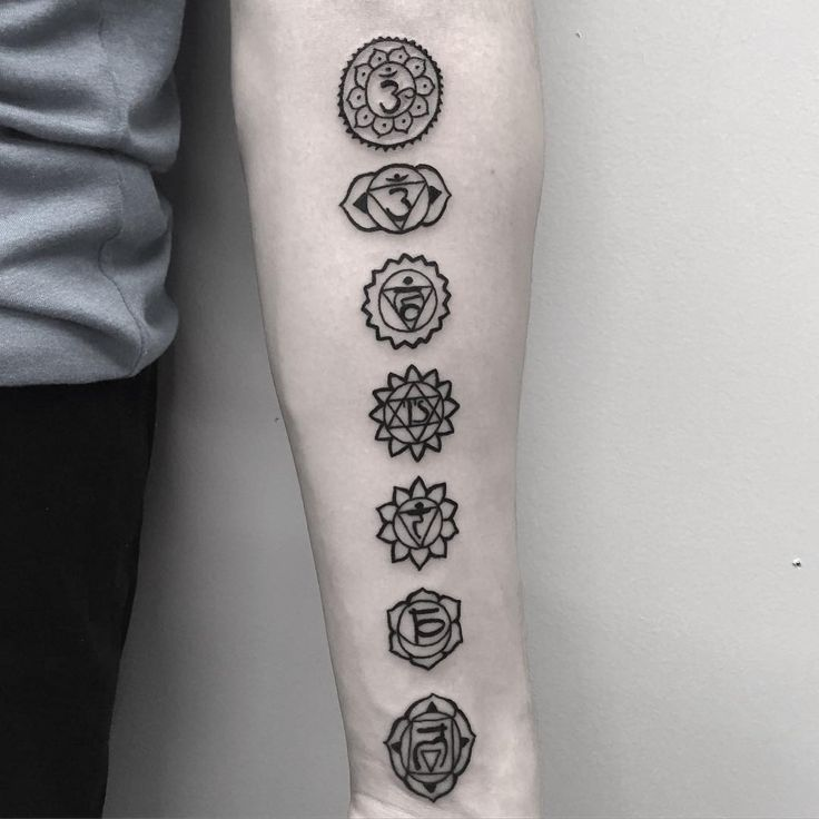 A chakra tattoo is one of those that modern tattoo enthusiast will prefer to add to other body markings to give them a deeper meaning and symbolism.