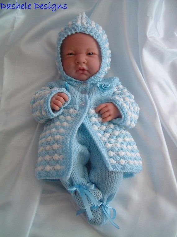 Knitting Pattern For Dolls Outfit To Fit 14 Inch 16