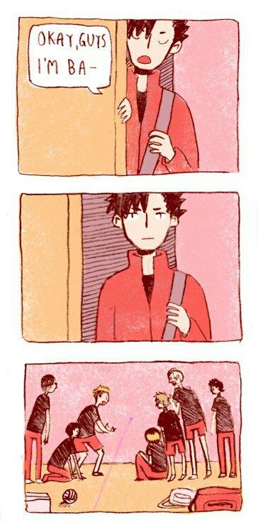 Headcanon!!! Nekoma is weak to lasers! XD || Haikyuu!!