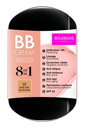 Bourjois Fond de Teint Bb Cream Foundation for Women  22 Beige Dore 021 Ounce *** You can find out more details at the link of the makeup sets.