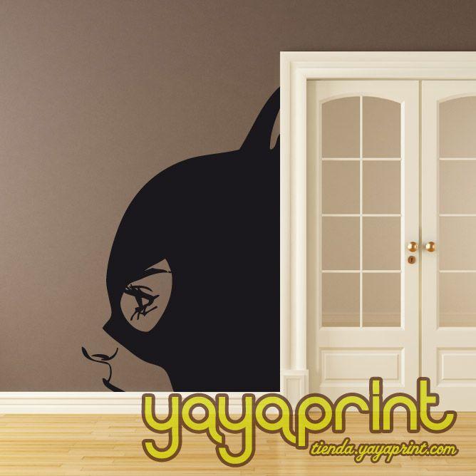 vinilo decoracin catwoman