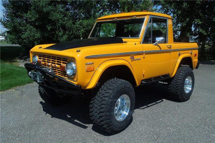 1975 bronco 351 auto bronco van pinterest ford for Bronco motors used cars