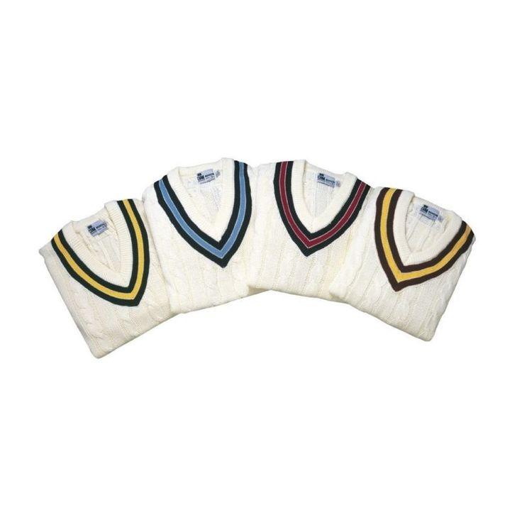 (Medium Navy/Red) - Gunn & Moore Cricket Slipover. Gm. Brand New