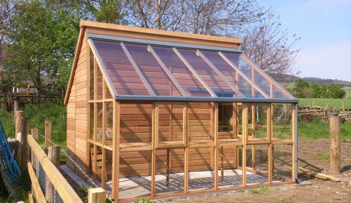 Greenhouse - Shed Combinations | Gabriel Ash
