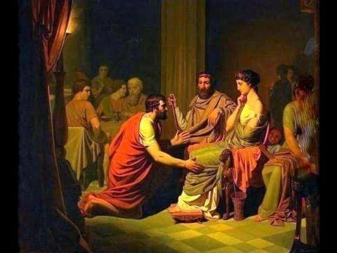 ΟΜΗΡΟΥ ΟΔΥΣΣΕΙΑ  Η -  Ο Οδυσέας στο παλάτι του Αλκίνοου (Ελένη Μουτάφη) )