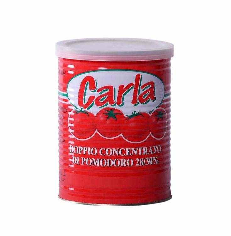 Tomato Paste 800g Nett 28/30% canned in Italy   Italcomex the taste of Italy