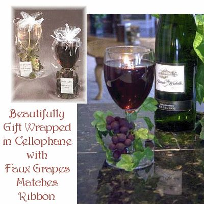Gel Wine Glass Discount Candles! - Scented Candles, Holders, Wholesale & more!