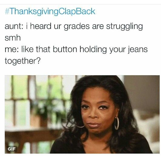 THANKSGIVING IS OVER BUT THESE ARE STILL FUNNY