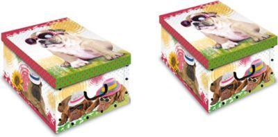 Artra Design Ordnungsboxen Deko Karton 4er SET Box Clip Katze und Hund Aufbewahrungsbox für Haushalt Büro Wäsche Geschenkbox Dekokarton Sammelbox Mehrzweckbox Ordnungskarton Ordnungsbox Geschenkekarton Jetzt bestellen unter: https://moebel.ladendirekt.de/dekoration/aufbewahrung/kaestchen/?uid=70c645d1-3b05-5a55-a464-fe187be17003&utm_source=pinterest&utm_medium=pin&utm_campaign=boards #heim #aufbewahrung #kaestchen #dekoration
