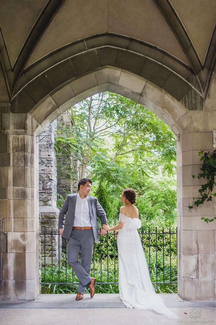 Knox College Pre-Wedding Photo Shoot Canada