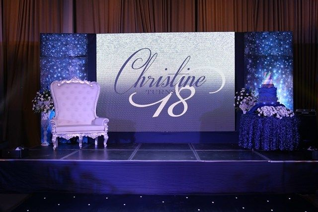 Christine S A Dreamy Night Under The Stars Inspired Debut Stage