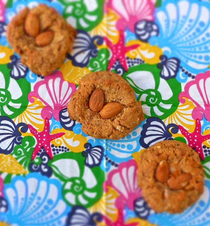 Almond Honey Buttered Thumbprint Cookies   Cookies   Pinterest
