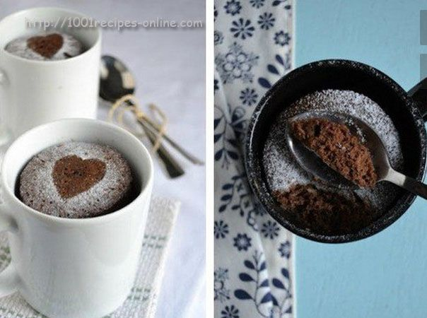 Cupcake in the microwave for 2 minutes: 10 easy recipes muffins in a mug