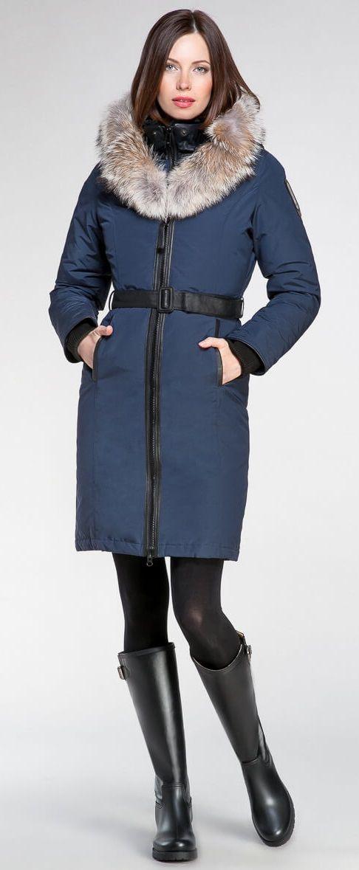 Regina parka Navy | Made in Canada | Arctic Bay ®
