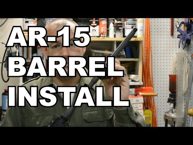 How To Properly Install An AR-15 Barrel