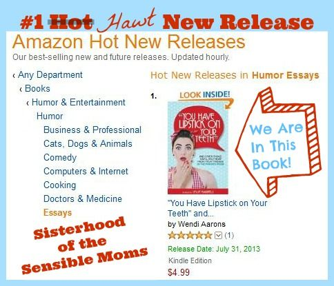 #1 Amazon Hawt New Release - You Have Lipstick On Your Teeth! We give you some glimpses inside this best seller!