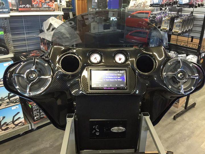 The new Harley display is up and running stop by and take a listen to our Arc Audio speakers and amp all direct plug in for 98-13 and 14-16 Harley's thanks to Brandon @ inkhydographics for hydro dipping  our 1offcustoms fairing. We also added a Jvc double din. CPS Distributors, Inc. Automotive Division JVC U.S.A. Arc Audio Harley-Davidson Lakes Audio Brainerd, Minnesota Baxter, Minnesota caraudio-club.com Baggers Magazine Bagger Bags Harley Davidson Baxter Mn Harley-Davidson Museum…