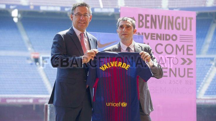 Ernesto Valverde #ErnestoValverde #Coach #FCBarcelona #ErnestoValverdeFCB #FansFCB #Football #FCB