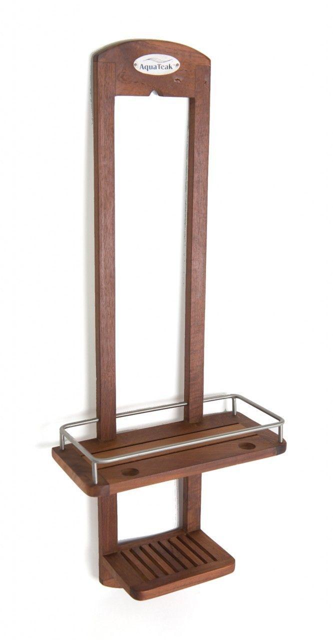 The Original Moa Teak Shower Caddy Teak Teak Wood And