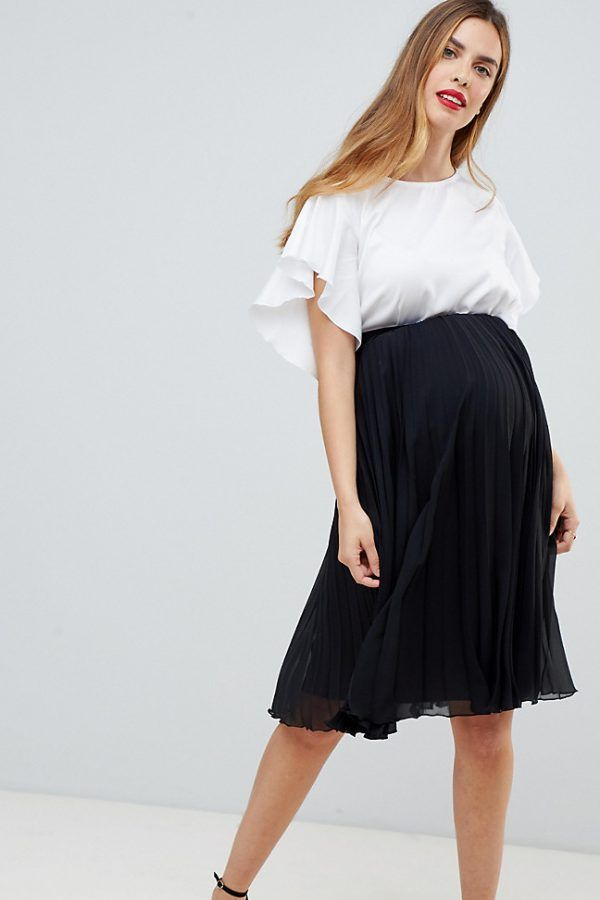 0b76e061d3954 The best maternity skirts   Maternity Fashion   Maternity Skirt ...