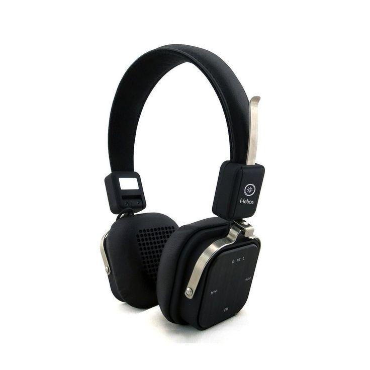 New Ergonomic Foldable Bluetooth Noise Cancelling Wireless Headphones Headset #Helios