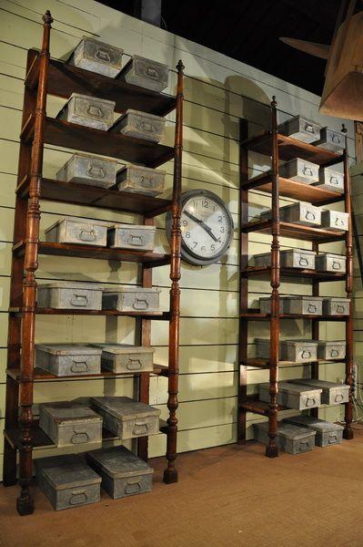 set of 32 metal boxes  c.1920
