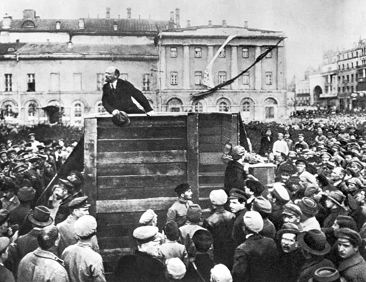 Bolsheviks revolt in Russia