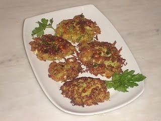 Authentic Greek Recipes: Zucchini Fritters (Kolokithopitta)