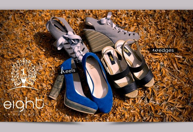 Eight merupakan brand fashion terdepan yang menampilkan keunikan dari gaya yang modern. Eight shoes sangat cocok bagi wanita yang memiliki personal style dan percaya diri.