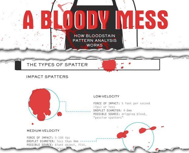 13 Best Blood Spatter Images On Pinterest Forensic Anthropology