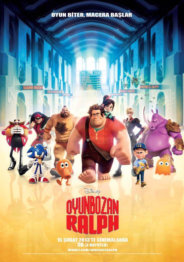 Oyunbozan Ralph 3D Disney Animasyonu,Oyunbozan Ralph